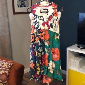 EUC Floral Anthropologie dress